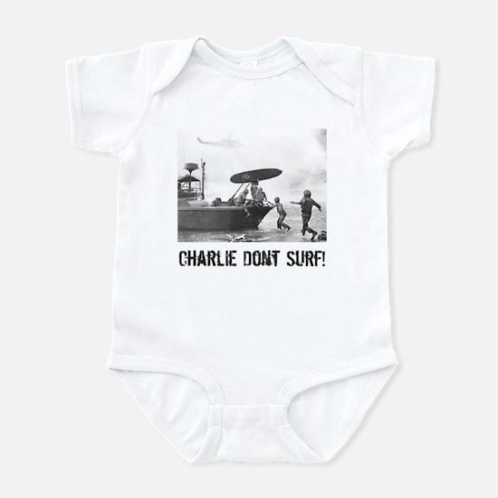 """Charlie Don't Surf"" Infant Bodysuit"