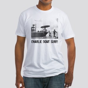 """Charlie Don't Surf"" Fitted T-Shirt"