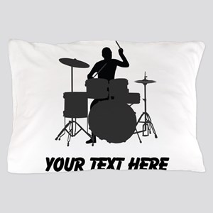Drummer (Custom) Pillow Case