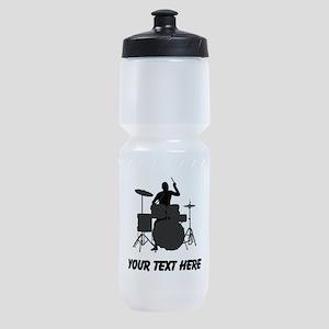 Drummer (Custom) Sports Bottle