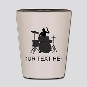 Drummer (Custom) Shot Glass