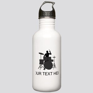 Drummer (Custom) Water Bottle