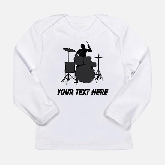 Drummer (Custom) Long Sleeve T-Shirt