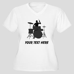 Drummer (Custom) Plus Size T-Shirt