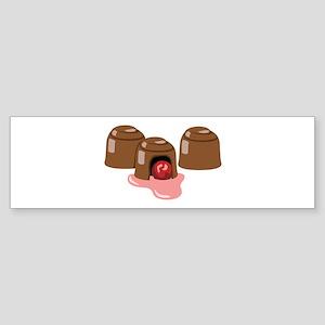Chocolate Covered Cherries Bumper Sticker