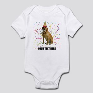 Custom Yellow Lab Infant Bodysuit