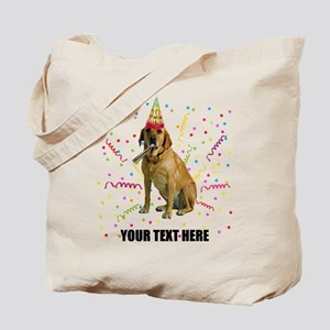 Custom Yellow Lab Tote Bag