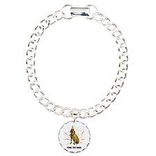 Custom Yellow Lab Charm Bracelet, One Charm