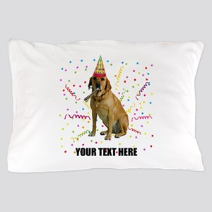 Custom Yellow Lab Pillow Case