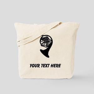 French Horn (Custom) Tote Bag