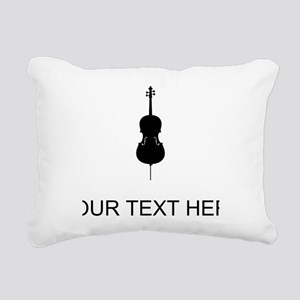 Cello (Custom) Rectangular Canvas Pillow
