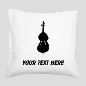 Cello (Custom) Square Canvas Pillow