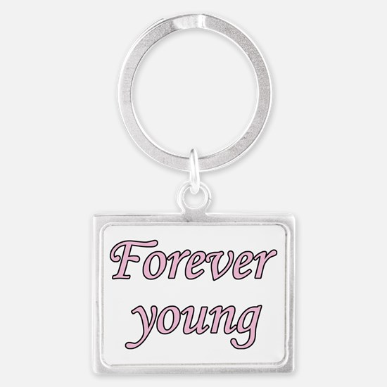 Forever Young Keychains