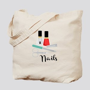 Manicure Nails Tote Bag