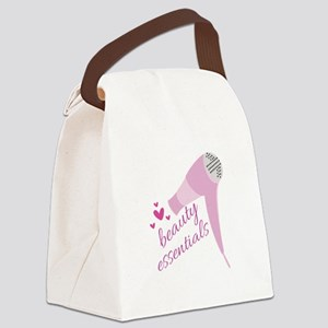 Beauty Essentials Canvas Lunch Bag