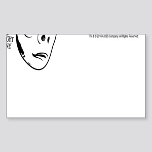The Twilight Zone: Normal Sticker (Rectangle)