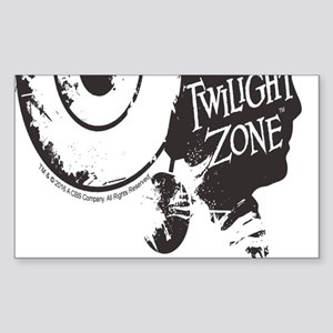 The Twilight Zone: Time Image Sticker (Rectangle)