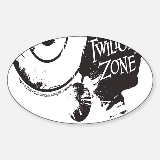 The Twilight Zone: Time Image Sticker (Oval)