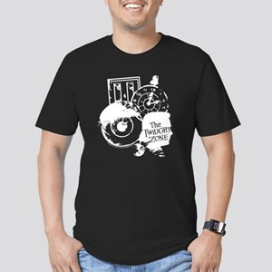 The Twilight Zone: Tim Men's Fitted T-Shirt (dark)