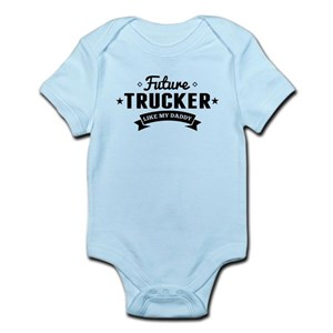 8ac27dad Truck Driver Dad Baby Clothes & Accessories - CafePress