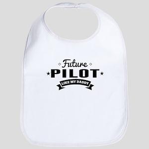 Future Pilot Like My Daddy Bib