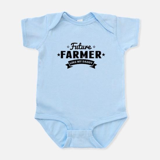 Future Farmer Like My Daddy Body Suit
