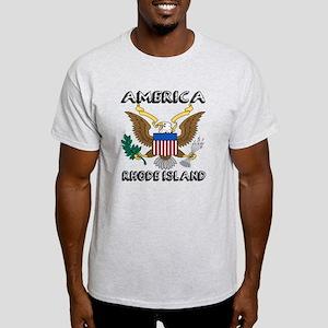 Rhode Island State Designs Light T-Shirt