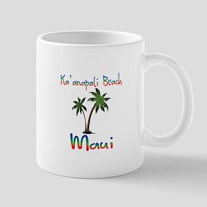 Ka'anapali Beach Maui Mugs