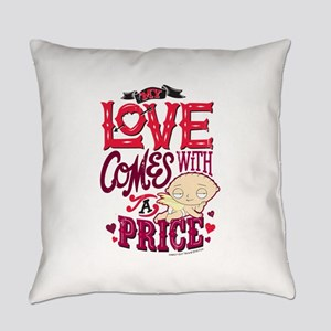 Family Guy Love Comes with a Price Everyday Pillow