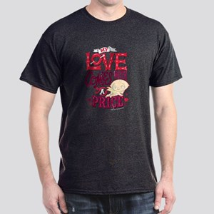 Family Guy Love Comes with a Price Dark T-Shirt