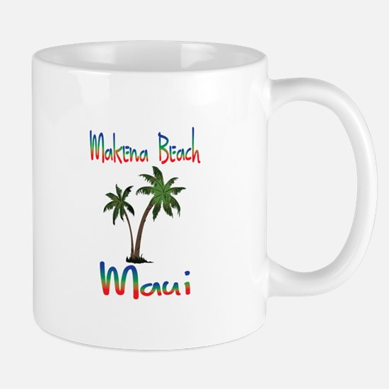Makena Beach Maui Mugs