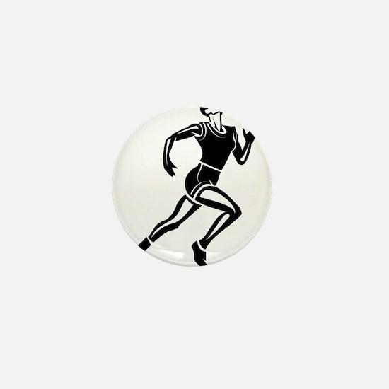 Runner Mini Button