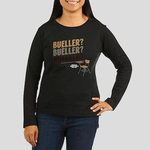 Bueller X3 Women's Long Sleeve Dark T-Shirt