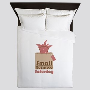 Small Business Saturday Queen Duvet