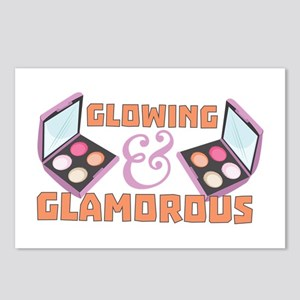 Glowing & Glamorous Postcards (Package of 8)