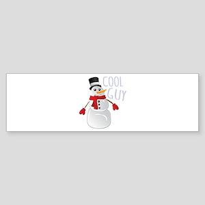 Cool Guy Bumper Sticker