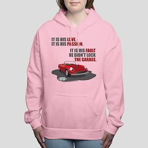 Lock The Garage Women's Hooded Sweatshirt