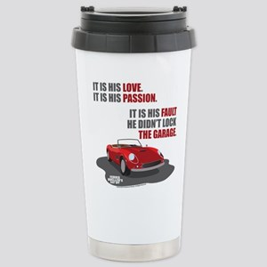 Lock The Garage Stainless Steel Travel Mug