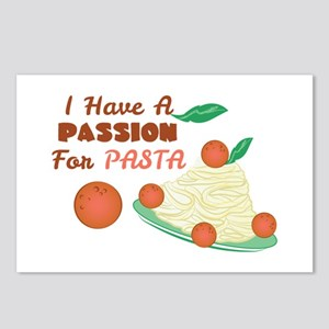 Passion For Pasta Postcards (Package of 8)