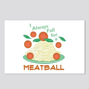 Fall For A Meatball Postcards (Package of 8)