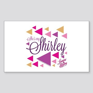 Laverne and Shirley: She's My Sticker (Rectangle)