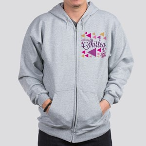 Laverne and Shirley: She's My Shirley Zip Hoodie