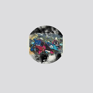 King of Graffiti Mini Button