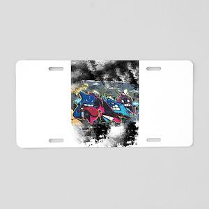 King of Graffiti Aluminum License Plate