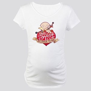 Family Guy Your Heart Belongs to Maternity T-Shirt