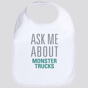 Monster Trucks Bib