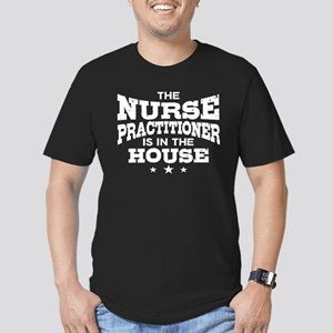 Funny Nurse Practition Men's Fitted T-Shirt (dark)