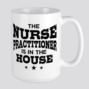 Funny Nurse Practitioner Large Mug