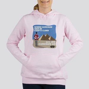 Let My Cameron Go Women's Hooded Sweatshirt