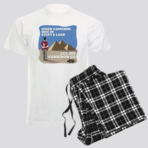 Let My Cameron Go Men's Light Pajamas
